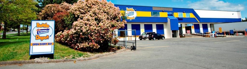 Bottle Depot Glanford Ave Victoria BC